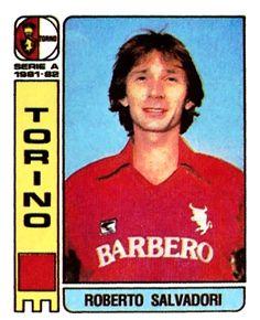 Roberto Salvadori, arrivato dall'Alessandria, concluse la carriera nei grigi nel nel 1983-84. Con il Toro vinse lo scudetto nel 1975-76, disputando tutte e 30 le partite.
