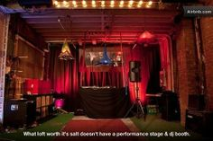 Dumbo Loft Includes Trapeze, DJ Booth, 'Panda Pit,' More - It Came From AirBnB - Curbed NY