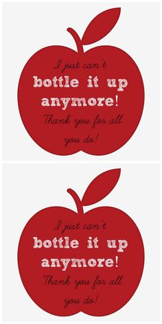 bottle printable
