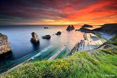 La Arnia sunrise by Achim Sieger