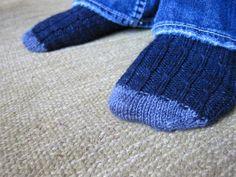 Men Sock knitting pattern