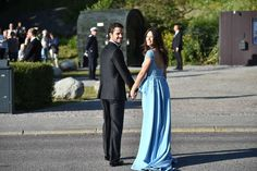 June 12, 2015.. Pre wedding dinner for Prince Carl Philip of Sweden and Princess Sofia of Sweden