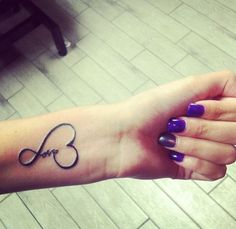 35 Inspiring Love Tattoo Ideas | Cuded