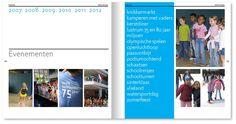 afscheids boek achtste groepers voor de eerste openluchtschool in amsterdam   Studio van Pelt grafisch ontwerper   Amsterdam