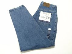 Guess Jeans 31x30 Men's Pascal Loose Fit Relaxed Blue Jeans NEW NWT #GUESS #BaggyLoose