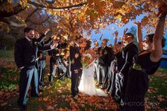 Zukas Hilltop Barn, Spencer, MA Autumn Wedding