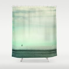 Serenity Shower Curtain by Guido Montañés - $68.00