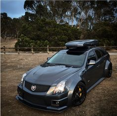 30+ Roof basket ideas | roof basket, dream cars, cts v wagon