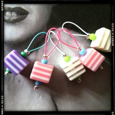 Knitting Stitch Markers  CANDY CUBES by RosyRetro® on Etsy, £3.50