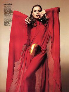 Inguna Butane | Nico #photography | Vogue Spain December 2007