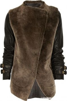 Futrzana kurtka Odzież wierzchnia
