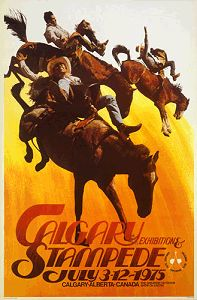 Calgary Stampede poster 1975