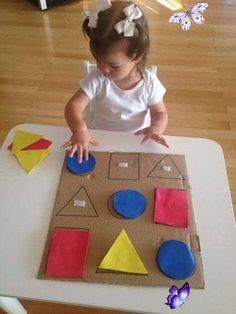 Paper with crafts ideas at home #toddlers Paper with crafts ideas at home – Tipss und Vorlagen #crafts #craftsforkids #craftprojects<br> Toddler Learning Activities, Montessori Activities, Kindergarten Activities, Infant Activities, Kids Learning, Kindergarten Classroom, Stem Activities, Kids Crafts, Diy Home Crafts