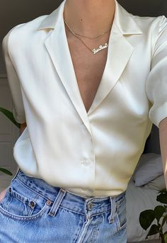 Trendy Outfits, Cute Outfits, Fashion Outfits, Womens Fashion, Classy Work Outfits, Simple Outfits, Aesthetic Fashion, Aesthetic Clothes, Button Down Outfit