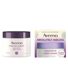 Absolutely Ageless Daily Face Moisturizer with SPF 30 Night Face Cream, Best Night Cream, Anti Aging Night Cream, Aveeno Absolutely Ageless, Blackberry, Neck Cream, Facial, Beauty