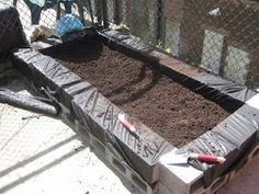 Cheap and easy raised garden bed!