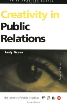 Fairly old now, but still worth a read as Andy Green is PR practitioner who gets #creativity.