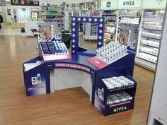 Nivea Cleansing Make-Up Counter - Cardboard Engineering Pete Hardy - Design Jamie Holder - Superior Creative Design