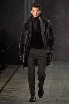The first show following the designer's return to his namesake brand (which he launched in 1987 and left in 2005.)