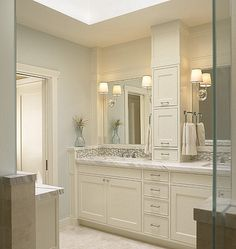 1) Fix the gap between wall and vanity like picture  2) Cabinet tower