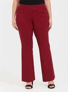 cab9025512fd3 Studio Signature Ponte Stretch Trouser