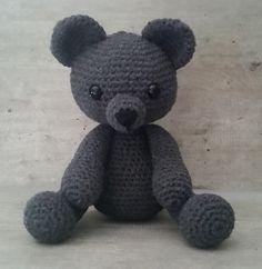 Bobby the Bear - Free Amigurumi Crochet Pattern - English Version - PDF File…