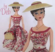 Arrivederci Roma - Vintage Barbie Doll Dress Reproduction Repro Barbie Clothes
