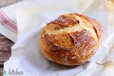 Homemade Dutch Oven Bread: Kneaded and No-Knead Methods. Great with sunflower and pumpkin seeds added.