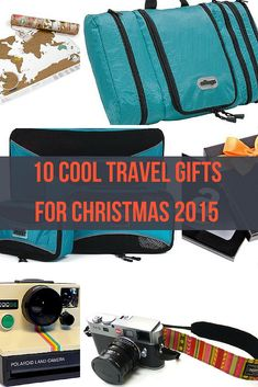 Cool travel gifts 2015. Unique travel gifts for men, travel gifts for her. Best Travel Gifts 2015 inspiration.