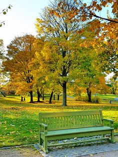 Fifty Shades of Autumn in Helsinki