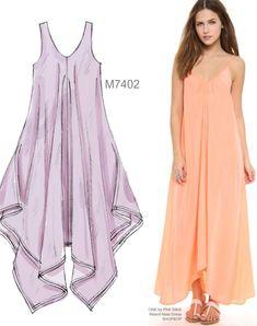 Sew the Look: McCall's M7402 maxi dress