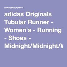 adidas Originals Tubular Runner - Women's - Running - Shoes - Midnight/Midnight/White