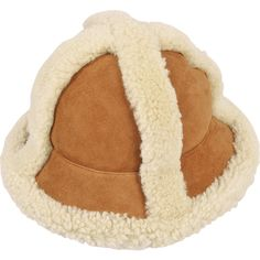 99add01c5fc Acne Studios Bel shearling hat ( 410) ❤ liked on Polyvore featuring  accessories