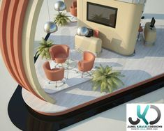 JB Exhibition booth on Behance Exhibition Booth, Behance, Table Decorations, Furniture, Home Decor, Decoration Home, Room Decor, Home Furnishings, Home Interior Design