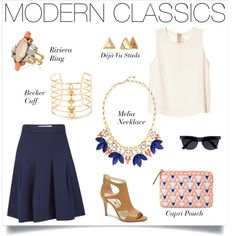 Tailored and elegant, we love how exciting jewelry lights up this classic outfit | All accessories Stella & Dot