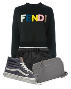 """""""Fendi"""" by tigerlily789 ❤ liked on Polyvore featuring Fendi, Vans, women's clothing, women's fashion, women, female, woman, misses and juniors"""