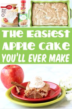 Angel Food Cake Recipes with Fruit - Easy Desserts!  With the perfect blend of cinnamon spice and sweet apples, this cozy Fall dessert is just what your week needs!  Go grab the recipe and give it a try!