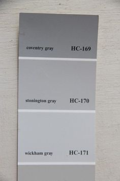Newly Painted I Chose Benjamin Moore Wickham Gray For The Walls