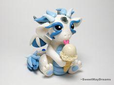 Dragon with Ice Cream Cone by SweetMayDreams.deviantart.com on @deviantART