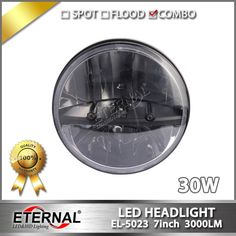 (319.90$)  Watch here - http://ai5po.worlditems.win/all/product.php?id=32711236491 - 8pcs 7in 30W LED headlight PAR56 for Wrangler JK TJ LJ 4WD offroad truck SUV automotive vehicles sealed dual beam