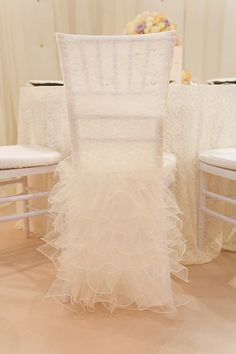 Chair Cover Decorations For Wedding Adult Portable Potty 146 Best Covers Images Chairs Lena Lace Cap With Ruffled Skirt Decorationswedding