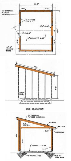 Plans for a Storage Shed How to Build a Shed Free Shed