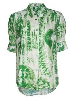 ACNE Print Shirt