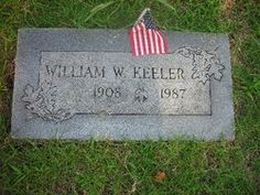Chief William Wayne Keeler.  Cherokee Indian Chief.  White Rose Cemetery, Bartlesville, Oklahoma.  Find A Grave