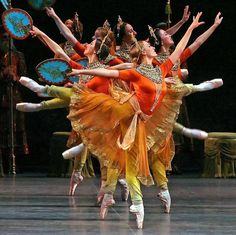 "PHOTOGRAPHER ANDREA MOHIN ""La Bayadere"" by Marius Petipa/Natalia Makarova American Ballet Theatre (2007)"