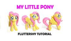 MY LITTLE PONY - FLUTTERSHY - TUTORIAL - PLASTILINA - PORCELANA FRIA - CLAY