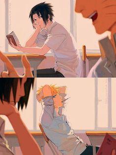 Naruto Vs Sasuke, Gaara, Anime Naruto, Naruto Comic, Naruto Cute, Naruto Funny, Haikyuu Anime, Otaku Anime, Manga Anime