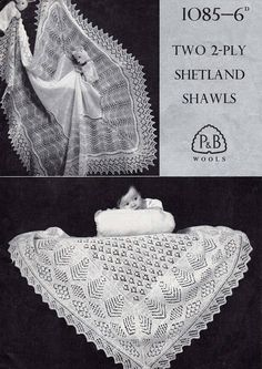 Baby Knitting Patterns Lace Patons 1085 knitted Square baby shawl shetland lace by Ellisadine, Knitting Terms, Lace Knitting Patterns, Shawl Patterns, Baby Patterns, Baby Knitting, Knitted Baby, Vintage Patterns, Crochet Baby, Knitted Shawls