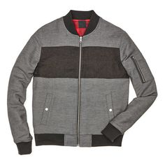 #FashionVault #perry ellis #Men #Jackets & Coats - Check this : Original Penguin PIECED BOMBER JACKET for $79.99 USD