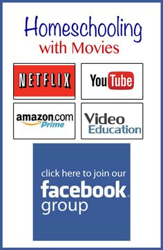 Homeschooling with Movies Facebook Group